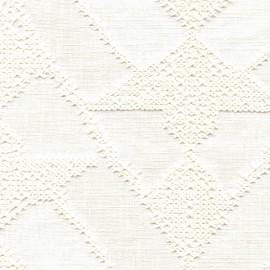 Tissu Essaouira blanc Elitis