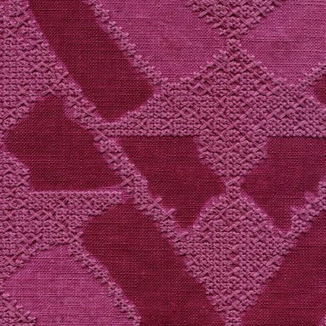 Tissu Essaouira rose Elitis