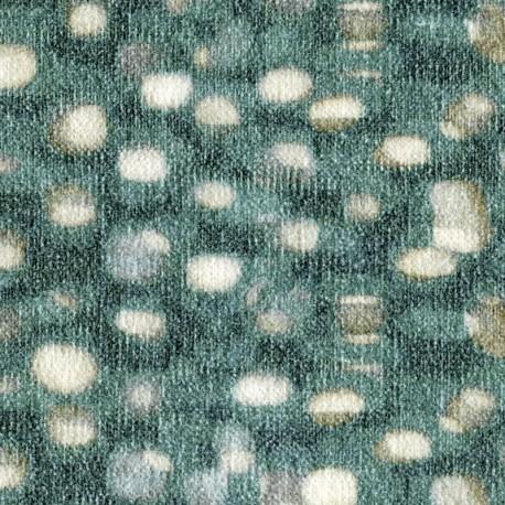 Tissu Deià vert ELITIS