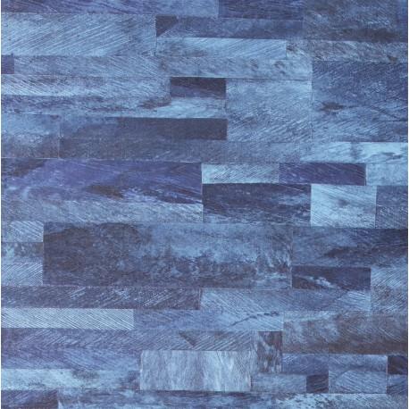 Papier peint Nomades Pâna bleu de Elitis
