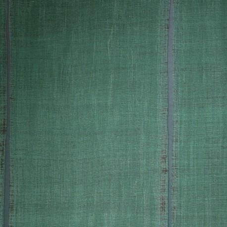 Papier peint Nomades Sari vert de Elitis