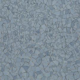 Papier Peint Picassiette Etain CHRISTIAN LACROIX