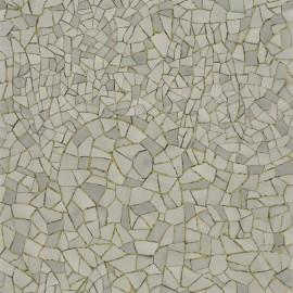 Papier Peint Picassiette Gris Orage CHRISTIAN LACROIX