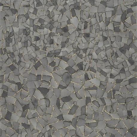 Papier Peint Picassiette Réglisse CHRISTIAN LACROIX