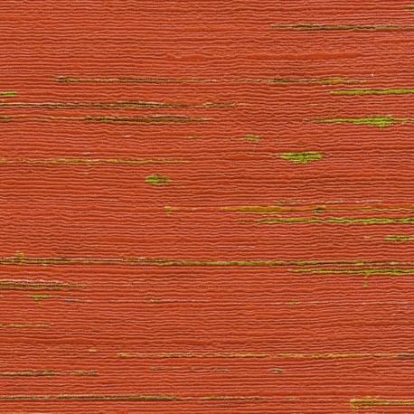 Papier peint Indiana rouge de Elitis