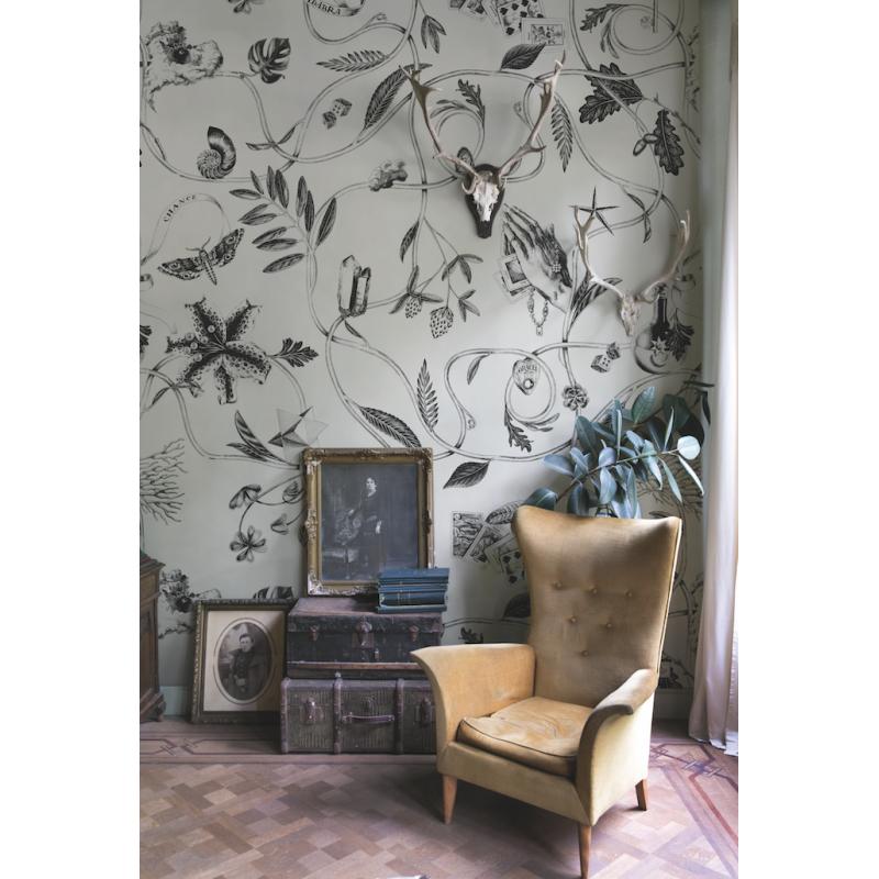 papier peint chance de bien fait atelier du passage. Black Bedroom Furniture Sets. Home Design Ideas