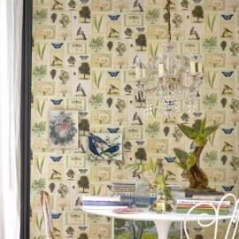 Papier peint Flora and fauna de John Derian