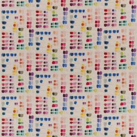 Tissu Mixed Tones Canvas de John Derian