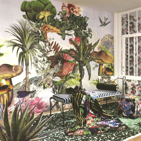 panoramique jardin des reves xxl christian lacroix atelier du passage. Black Bedroom Furniture Sets. Home Design Ideas