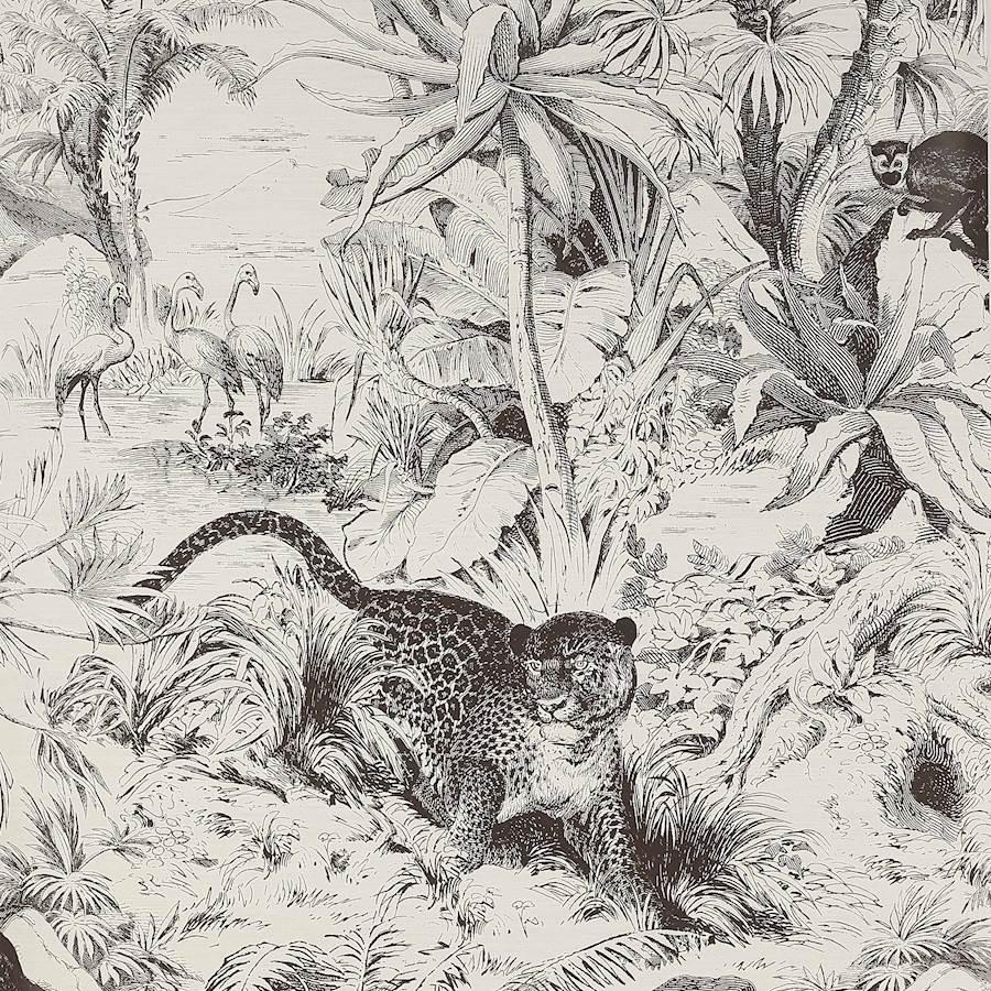 papier peint salvator de Manuel Canovas
